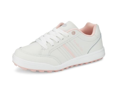Ladies Founders Club Womens Spikeless Street Golf Shoe White Rose