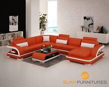 Italian Leather Lounge- Harmony Series G8011 Marayong Blacktown Area Preview