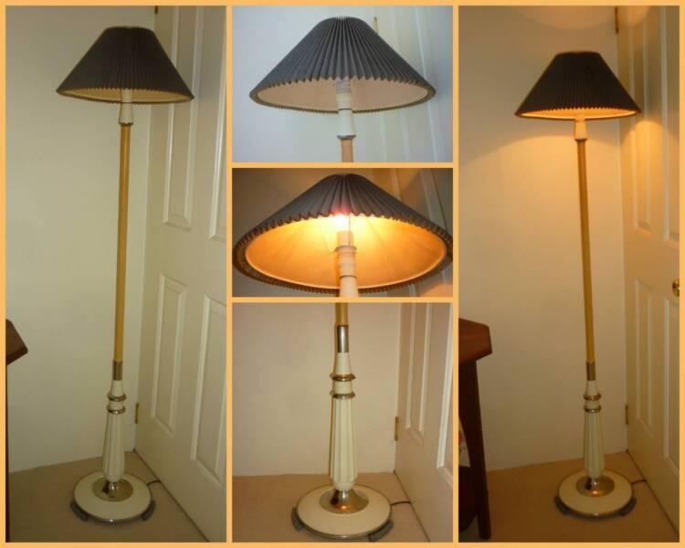 Old tilley bakelite chrome floor standing lamp lamp and shade 1 of 10 keyboard keysfo Gallery