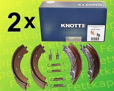 2 Sätze Knott Bremsbacken 200x50 20-2425/1 47276 Anhänger Bremse