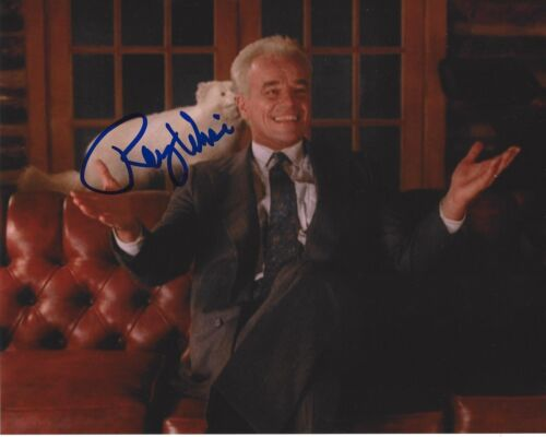 ACTOR RAY WISE SIGNED TWIN PEAKS 8x10 PHOTO B W/COA ROBOCOP SWAMP THING LELAND