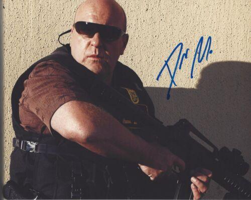 ACTOR DEAN NORRIS SIGNED 'BREAKING BAD' 8x10 PHOTO W/COA HANK SCHRADER