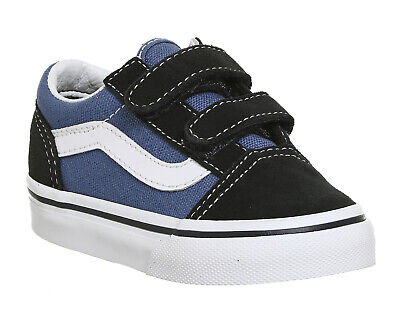 Kids Vans Old Skool Toddlers Navy True White Kids