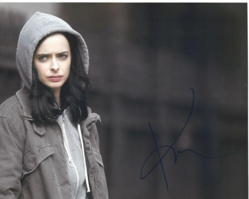 KRYSTEN RITTER SIGNED AUTHENTIC SEXY ACTRESS 8X10 PHOTO w/COA JESSICA JONES