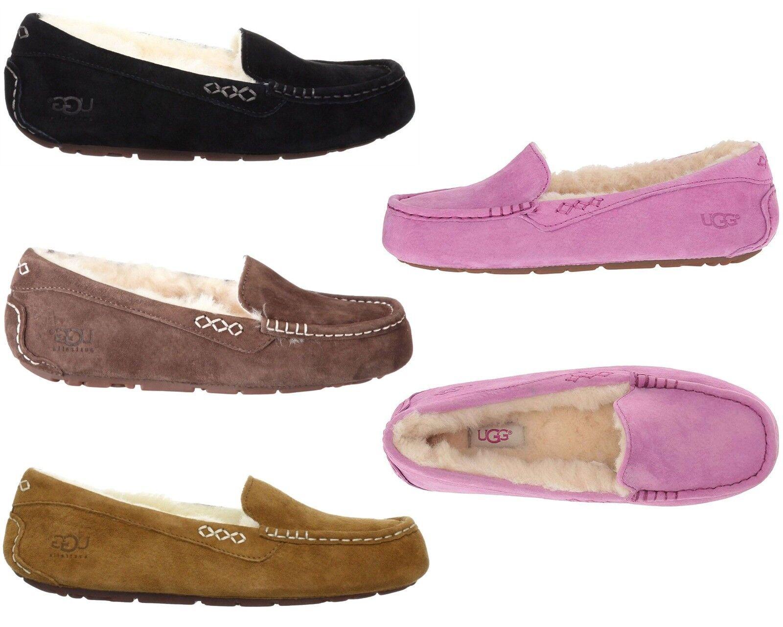 UGG Australia Women NEW Ansley Slipper Shoes Slip On Comfort Home Moccasins