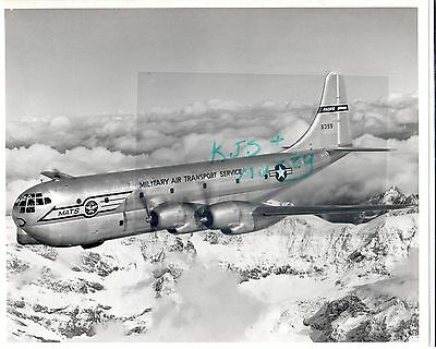 Boeing C 97 Military Air Transport Service Airplane Pacific Div 8399 3 Photos