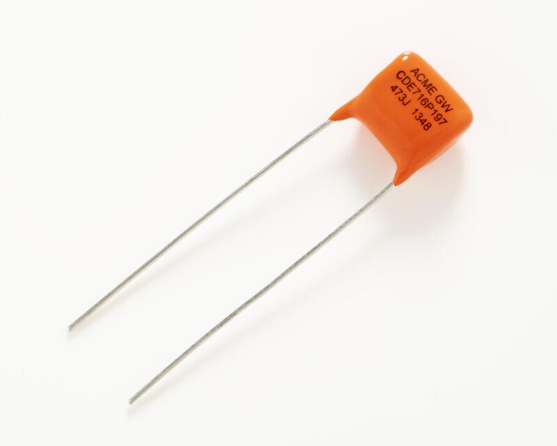 Capacitor, .047µF Orange Drop