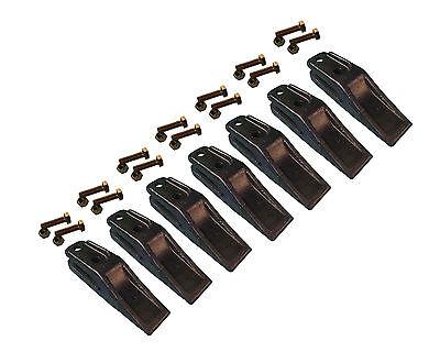 7 - Bobcat Style Skid Steer Mini Ex Bucket Uniteeth W Hardware - 6684447