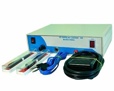 Electrosurgical Cautery Mini Electro Skin Surgery Machine Epilation Bipolar