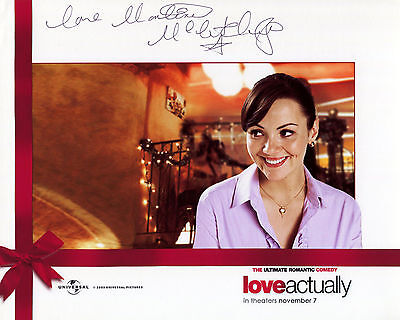 Martine McCutcheon - Natalie - Love Actually - Signed Autograph REPRINT