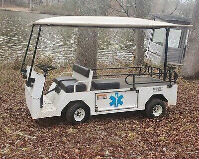 E-z-go Titan Hd Industrial Electric Flatbed Utility Cart 48v