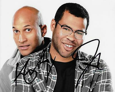 Jordan Peele And Keegan Michael Key Autographed 8X10 Photo  Reproduction