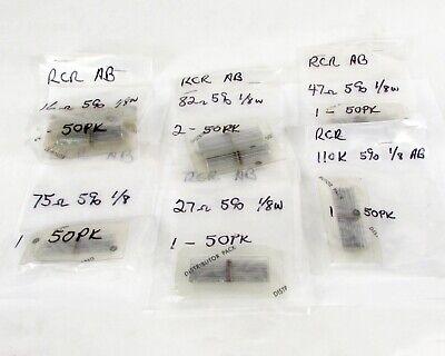Mixed Lot Of 400 Allen Bradley Carbon Composition Resistors
