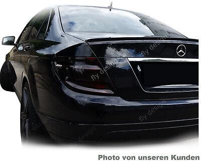 MERCEDES-BENZ C W204 SPOILER HECKSPOILER AMG HECKLIPPE Kofferraum * LACKIERT *