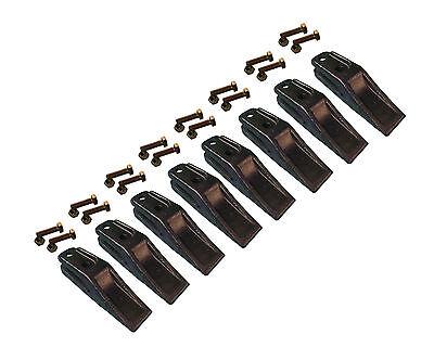 8 - Bobcat Style Skid Steer Mini Ex Bucket Uniteeth W Hardware - 6684447