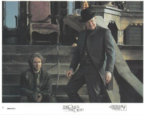 The Quick And The Dead Original 8x10 Lobby Card Poster Photo 1995 #1 Stone