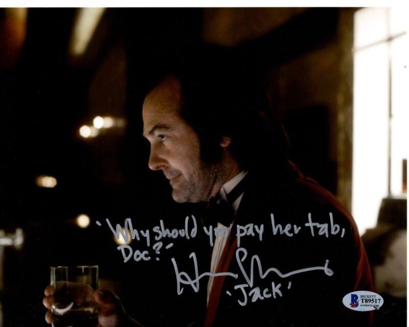 HENRY THOMAS signed 8x10 Photo DOCTOR SLEEP Jack Torrance Horror Beckett BAS