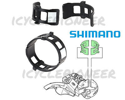 1PC 34.9 to 28.6mm Shimano Clamp Band Adapters for F Derailleur Mount NEW