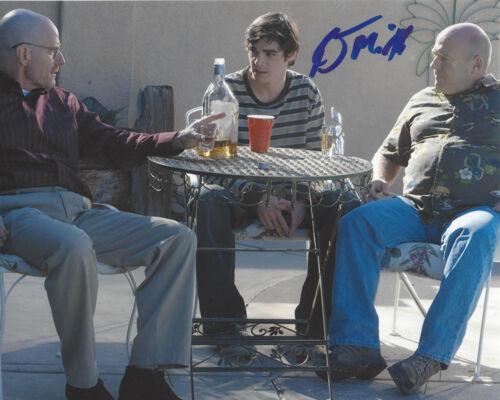 RJ MITTE SIGNED AUTHENTIC 'BREAKING BAD' WALT JR/FLYNN 8X10 PHOTO F w/COA PROOF