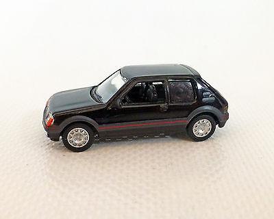 Peugeot 205 Gti 1984 Black Norev 1:87
