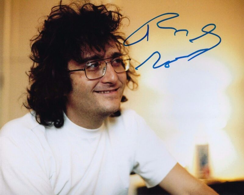 GFA Toy Story Film Composer * RANDY NEWMAN * Signed 8x10 Photo PROOF R4 COA