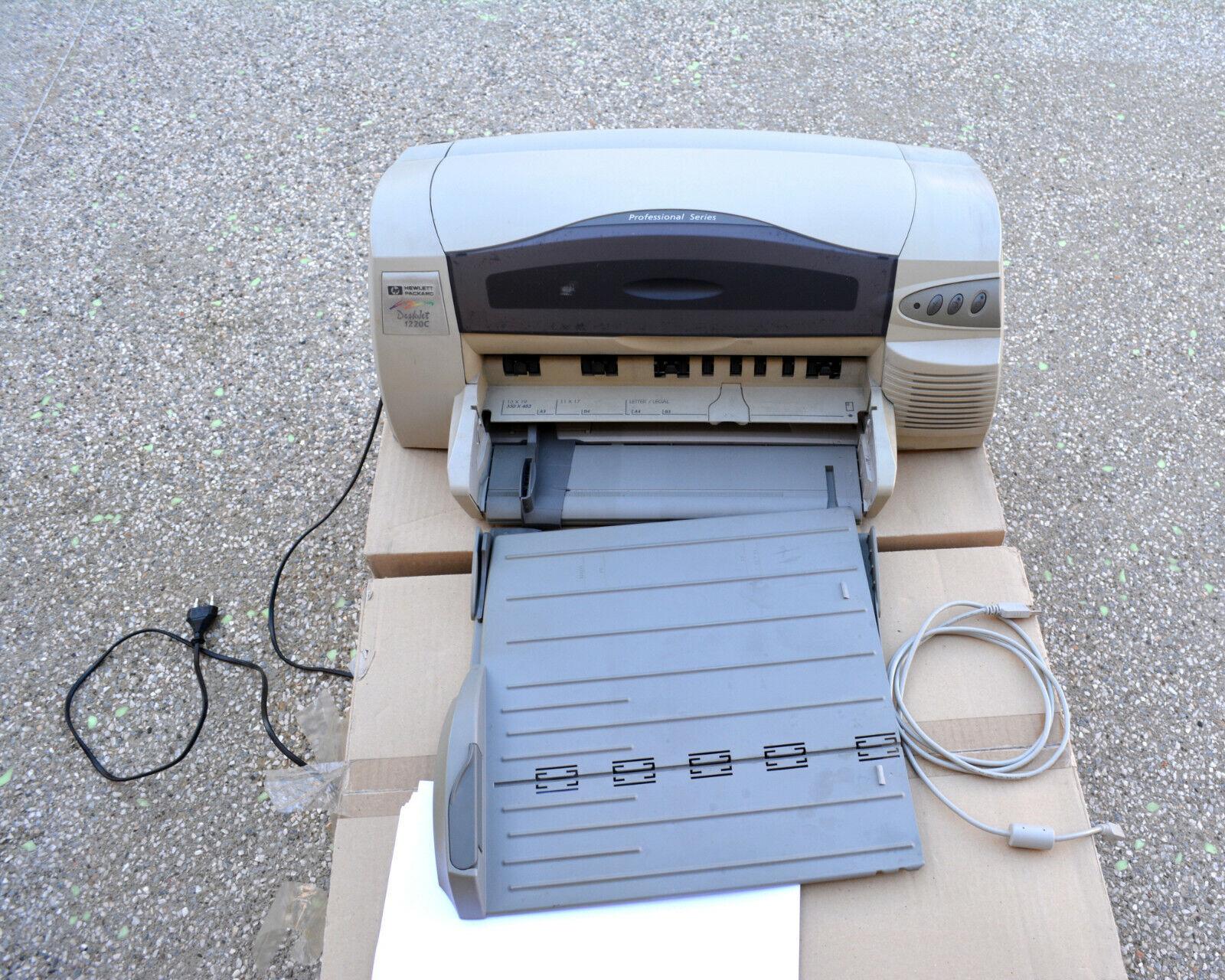 Imprimante a3 hp deskjet 1220c