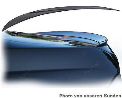 gloss SCHWARZ lackiert slim spoiler für Mercedes S Klasse W 140 Kofferraumklappe