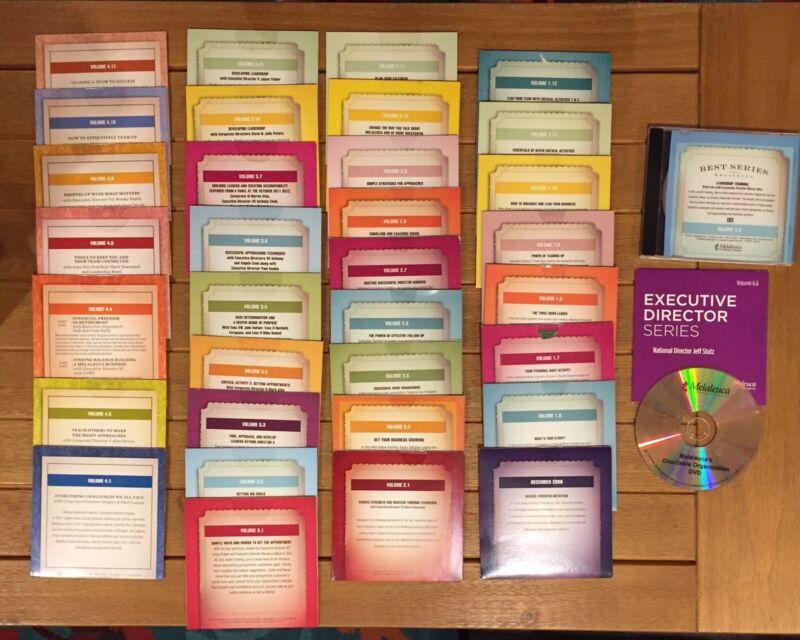 MELALEUCA BEST Series & Executive Director Series Lot of 36 Motivational CDs
