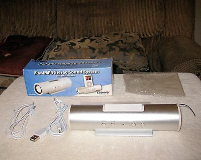 System Ipod Mp3 (iPod/MP3 Stereo Sound System with FM Scan Radio)
