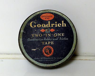 Antique B.F. Goodrich Tape Rubber and Friction RARE! With Tape inside  Ephemera