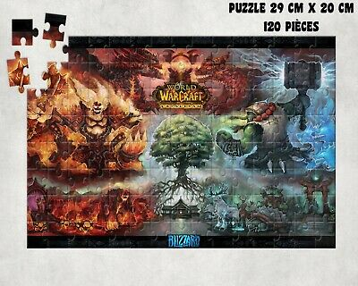 puzzle WORLD OF WARCRAFT cataclysm