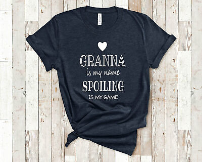 Best Granna Gift for Christmas Birthday Present Granna Is My Name Funny Granna