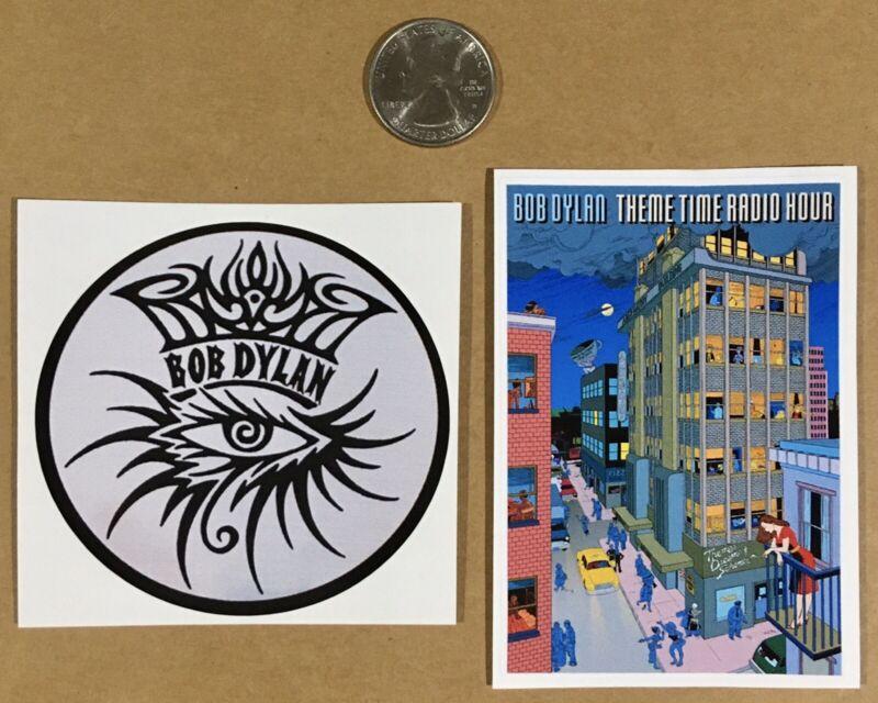 Bob Dylan sticker decal Theme Time Radio Hour