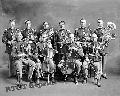 Photograph USMC  / Marine Corps Band  Washington DC  Year 1910 8x10