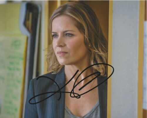 ACTRESS KIM DICKENS SIGNED FEAR THE WALKING DEAD 8x10 PHOTO w/COA MADISON CLARK