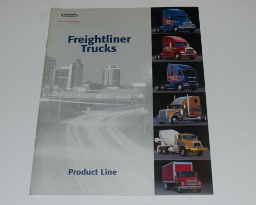 ORIGINAL 2000 FREIGHTLINER PRODUCT LINE BROCHURE ~CLASSIC XL ~ 20 PAGES