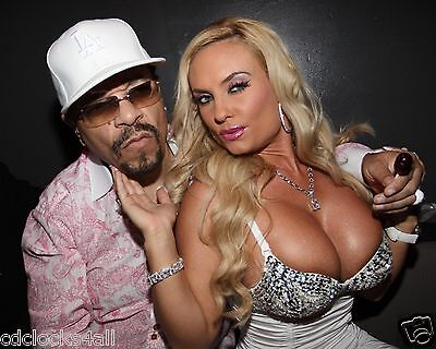 Coco Ice - Coco Austin & Ice-T 8 x 10 / 8x10 GLOSSY Photo Picture