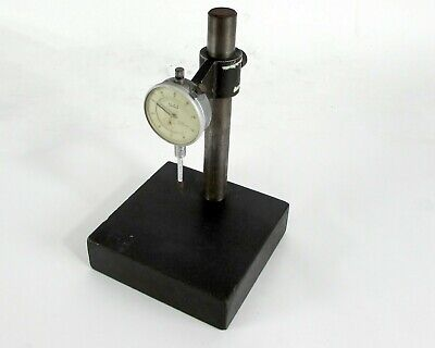 Teclock .001-1.0 Dial Gage Indicator W Adjustable Stand Base
