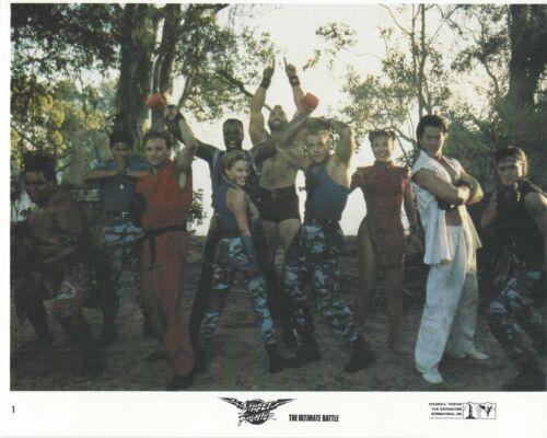 Street Fighter Original 8x10 Lobby Card Poster Photo 1994 #1 Van Damme Julia