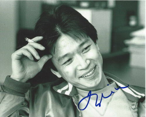 TZI MA SIGNED AUTHENTIC 'ARRIVAL' 8X10 PHOTO w/COA 24 RUSH HOUR ACTOR PROOF