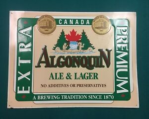 Iconic Canadian Beer Sign