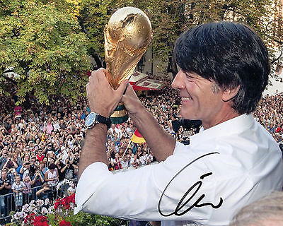 Joachim Löw - Germany- 2014 World Cup Winning Manager - Signed Autograph REPRINT