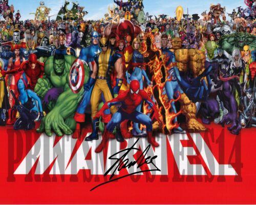 Stan Lee 8x10 SIGNED REPRINT Poster Marvel Comics Spiderman #1