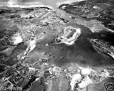Oct. 1941 Photo of Pearl Harbor, U.S. Naval Base, Hickam Field Before Attack