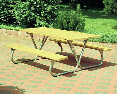 Park Style All Steel Picnic Table Frame Kit