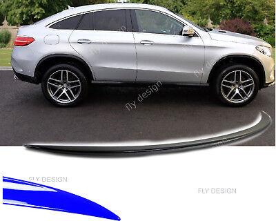 Mercedes GLE Tuning Coupé SUV C292 SLIM SPOILER Kofferraumlippe Abrisskante Lip