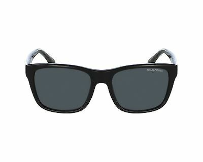9145bdbfc3f NWT Emporio Armani Sunglasses EA 4041F 5017 81 Polarized Black  Gray 56mm  501781