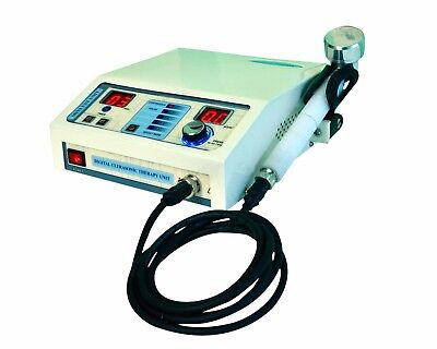 New Ultrasound Therapy Machine 1mhz Compact Comfortable Chiropractic Unit Fgj