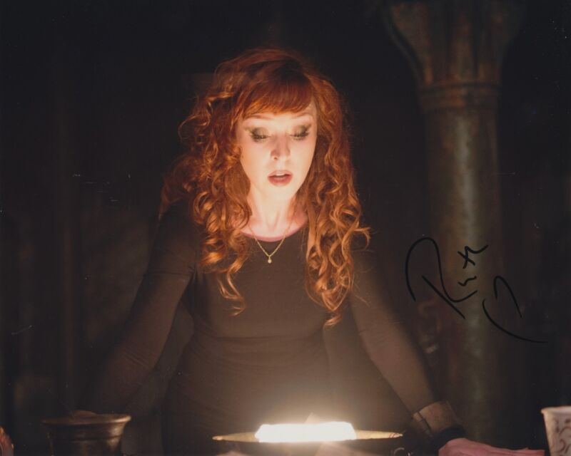 RUTH CONNELL SIGNED SUPERNATURAL 8X10 PHOTO