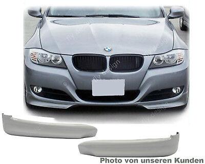 Para BMW e91 Facelift Tuning Spoiler Frontal Labio Splitter Aletas Pintado 354